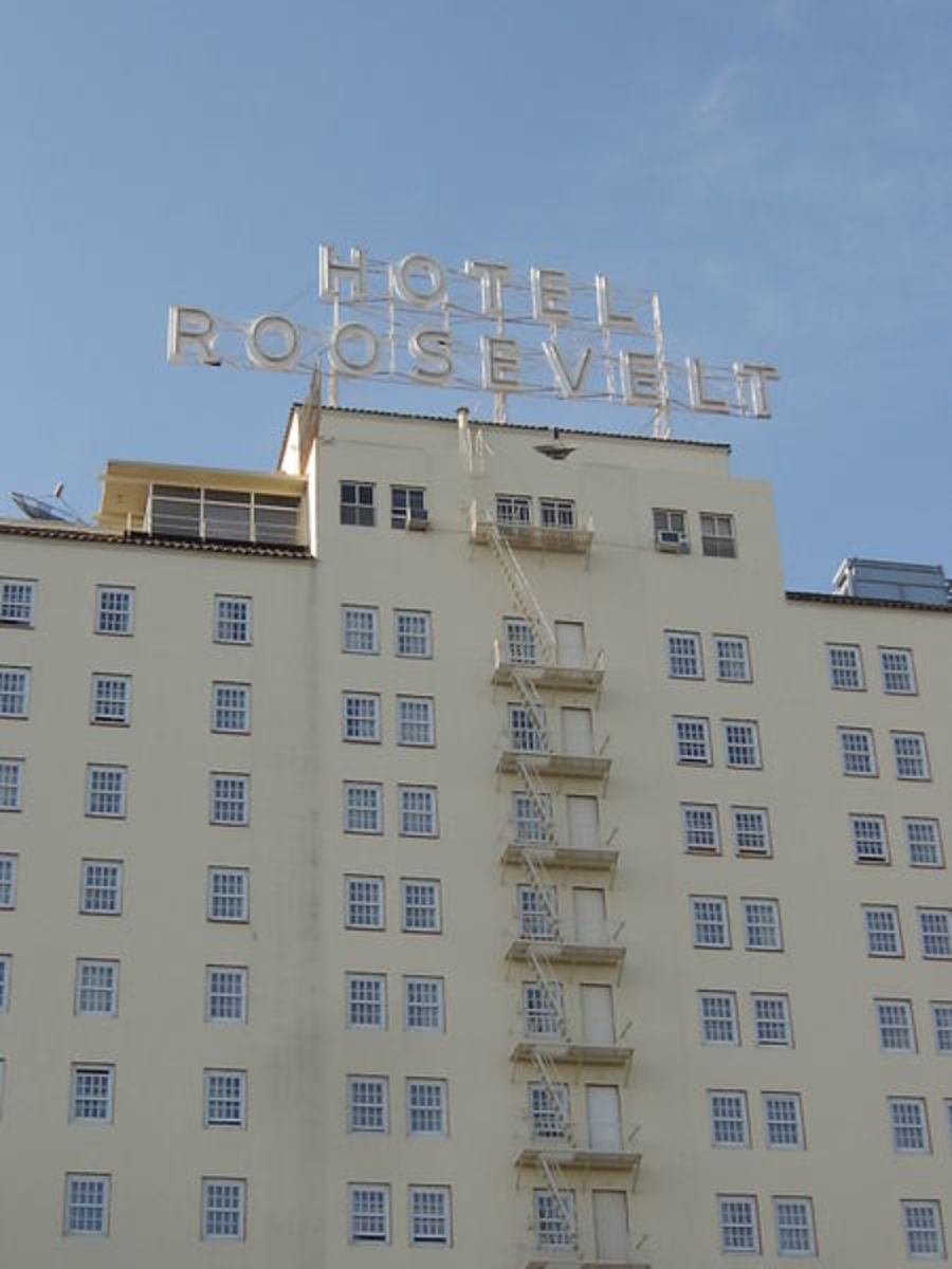 The Roosevelt Hotel has long sat on Hollywood Boulevard near Hollywood High School and Grauman's Chinese Theater