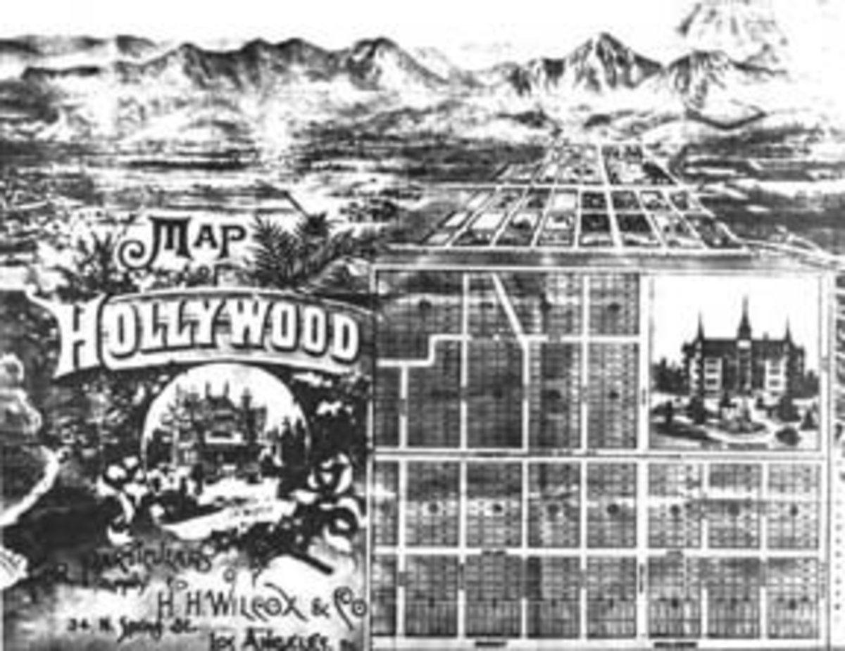 Wilcox's Original Estate Map