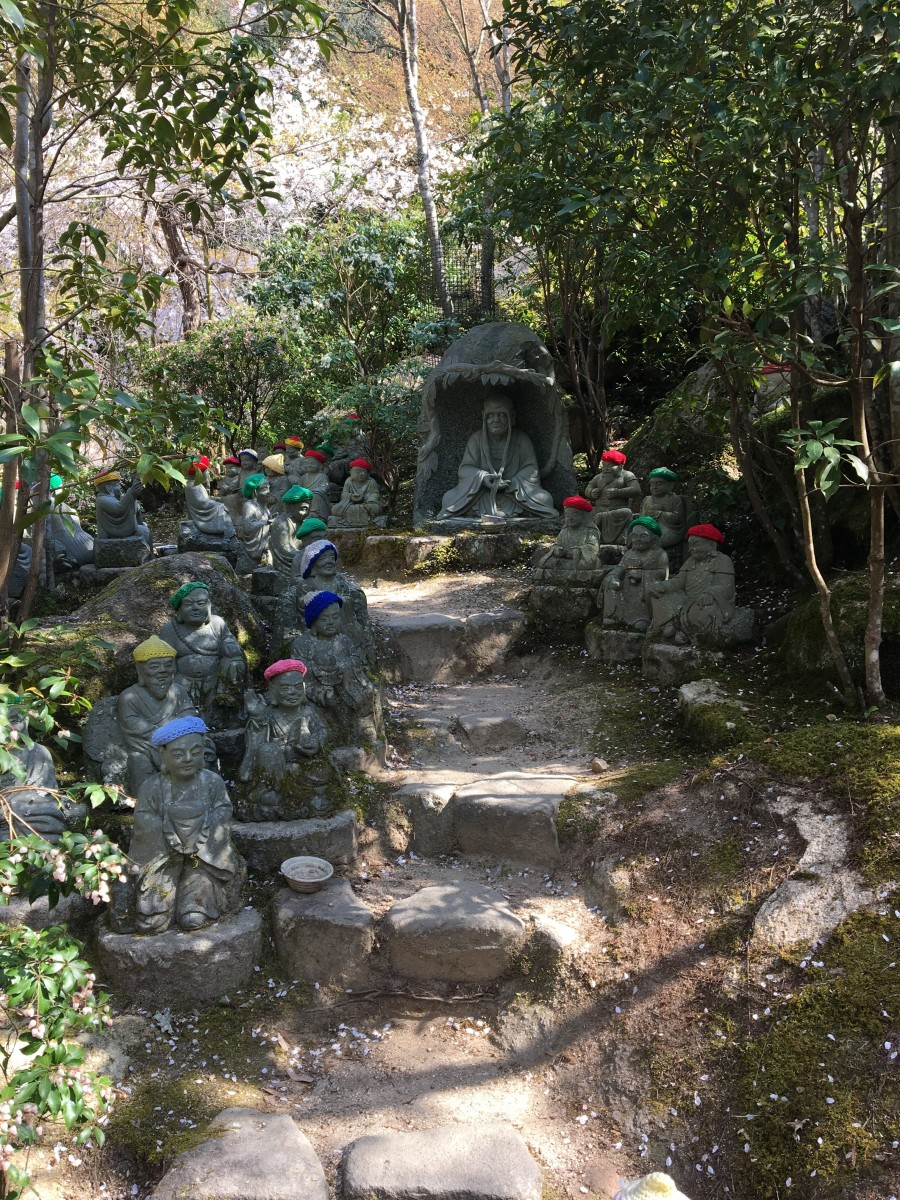 Guardian Statues at Daisho-In