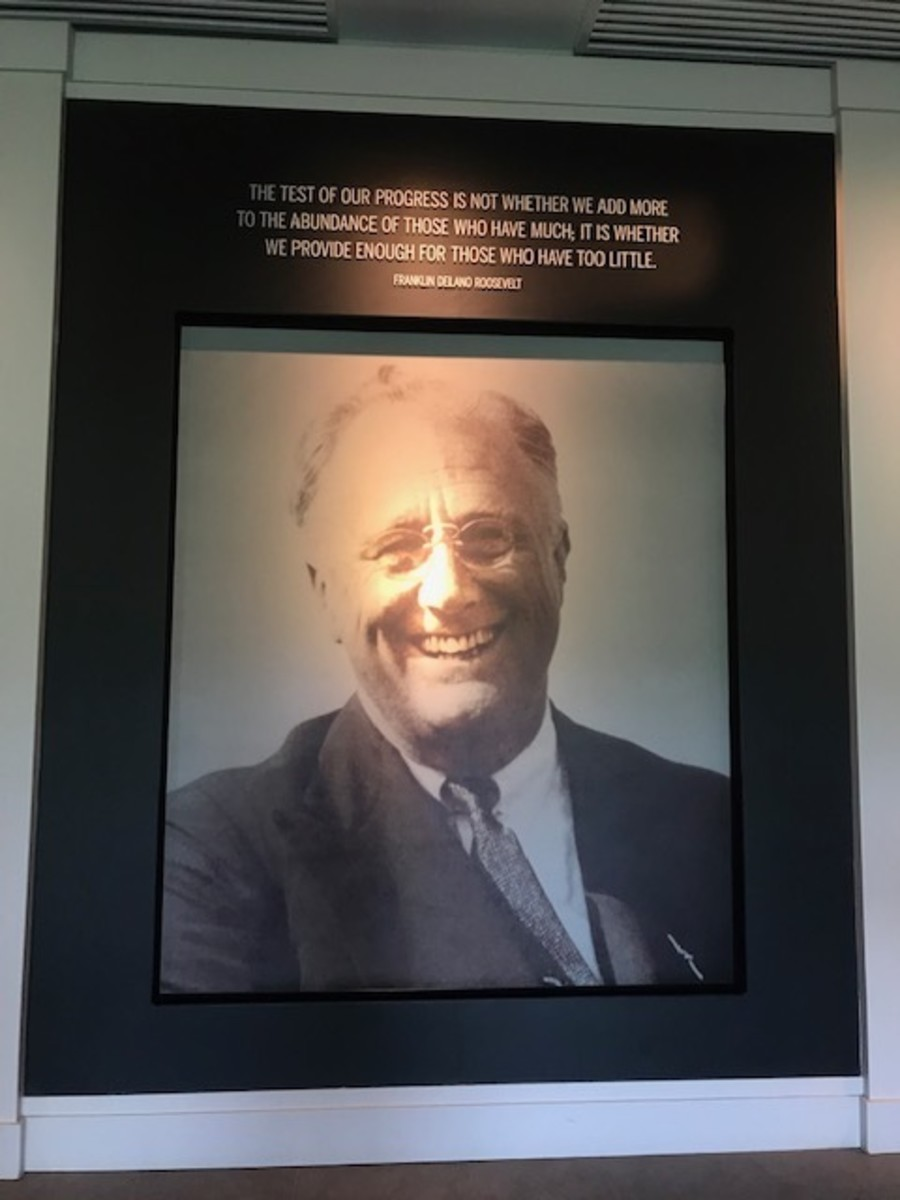 One of the Museum's Photos of FDR
