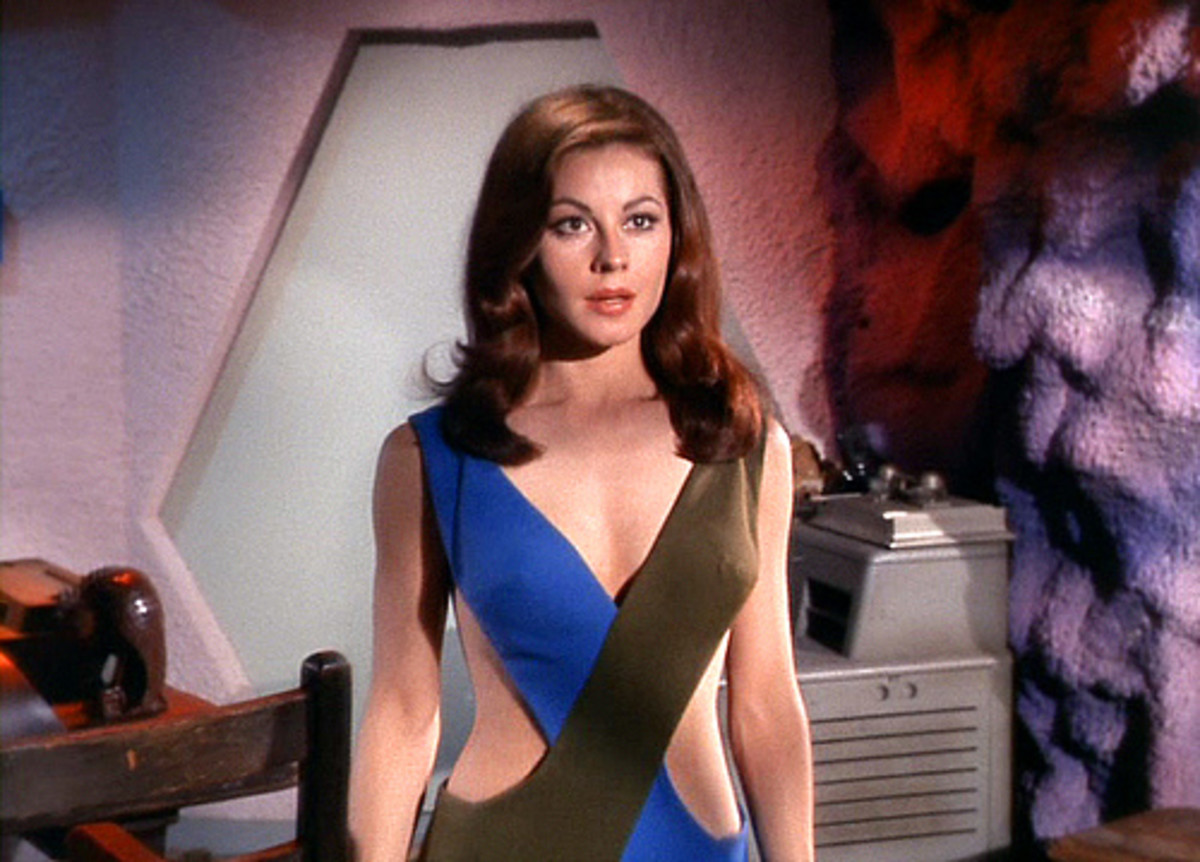 "Star Trek Evening Wear - ""Just something I threw together for you Captain."""