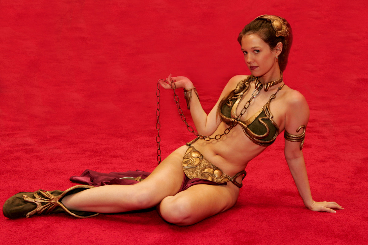 The Princess Leia Slave Look Never Goes Out Of Fashion!