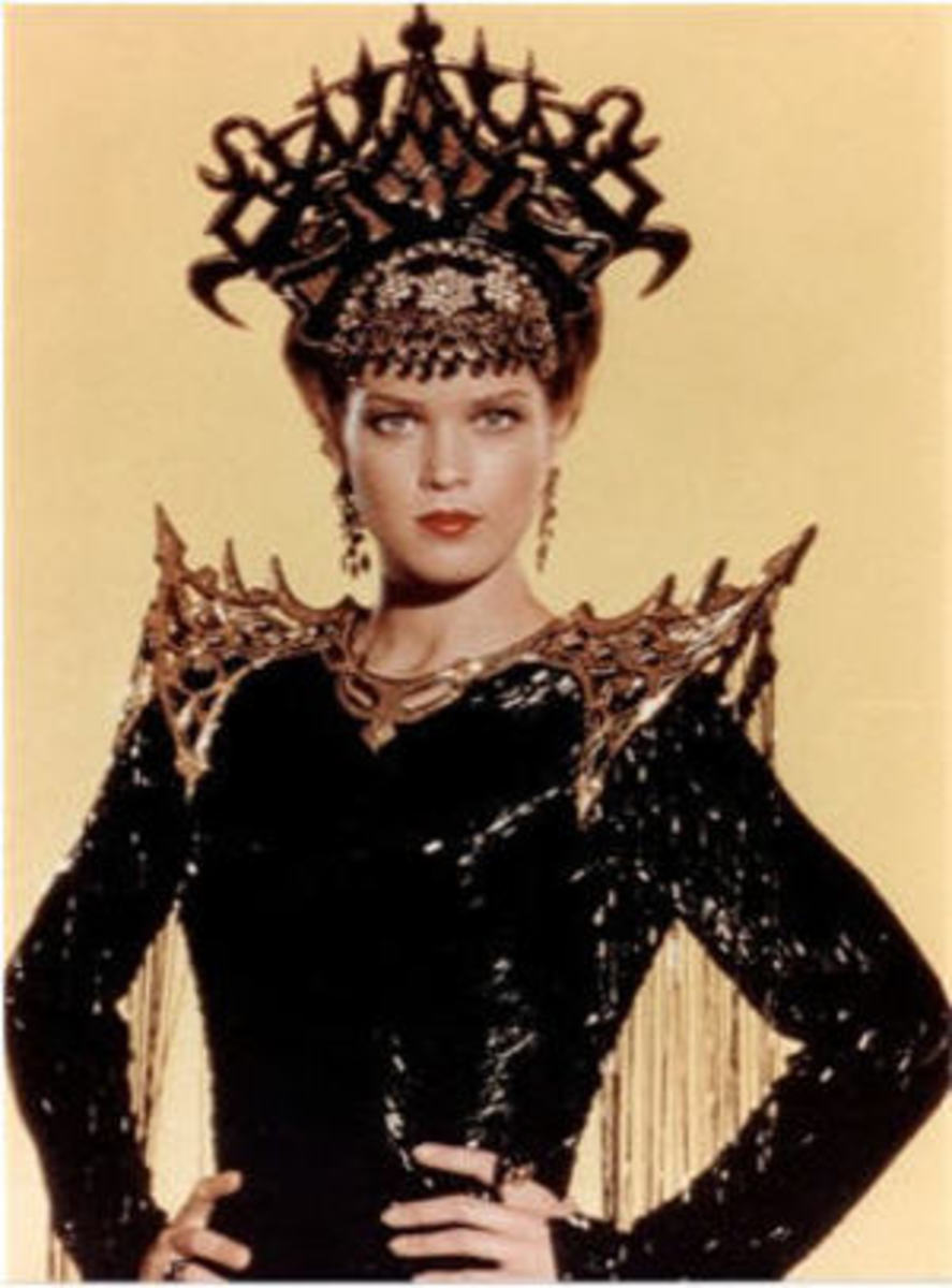 Melody Anderson as Dale Arden in 1980 Flash Gordon