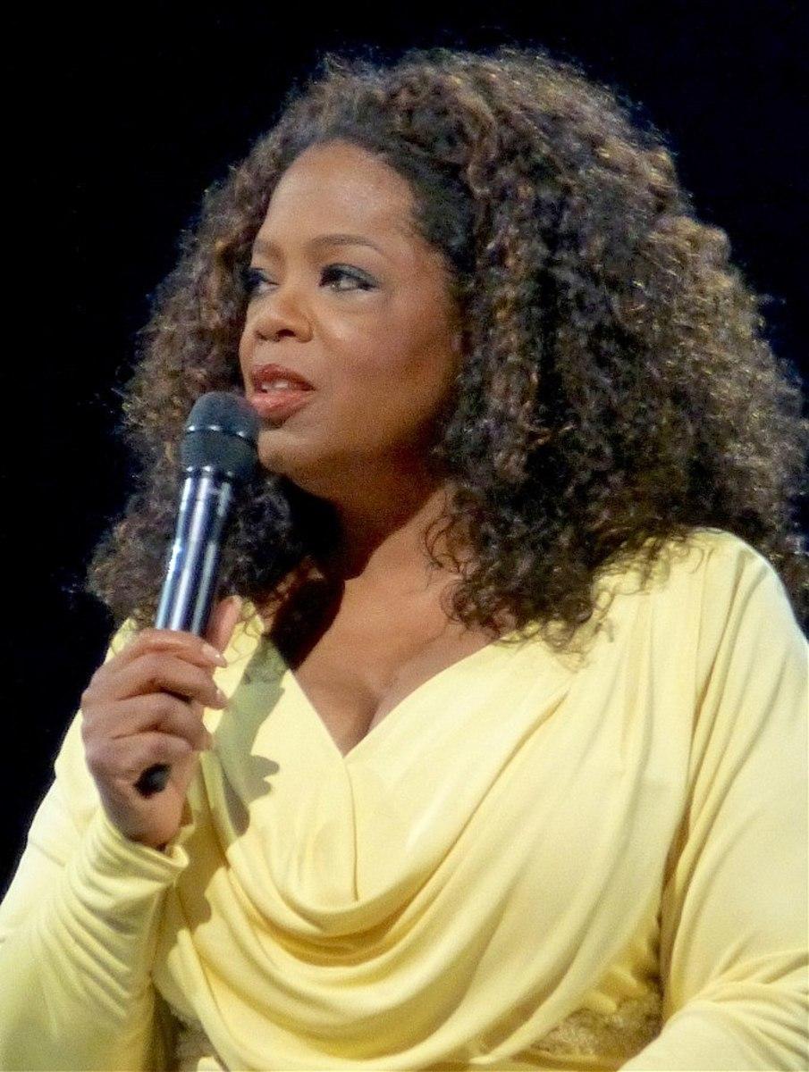 Oprah Winfrey in 2014