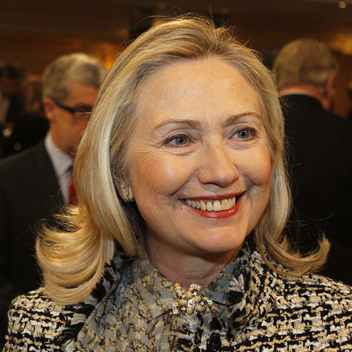Clinton in 2012