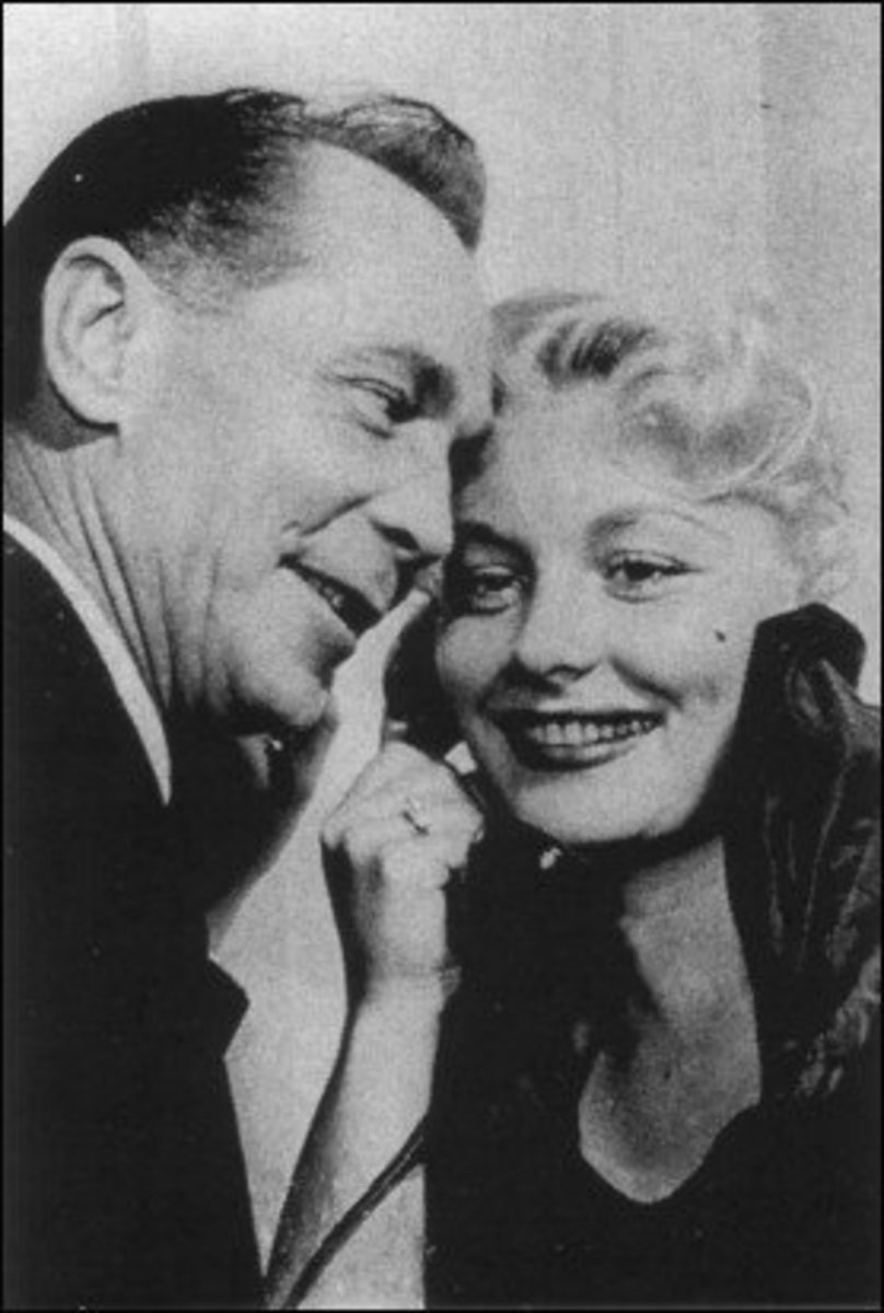 Barbara with Franchot Tone