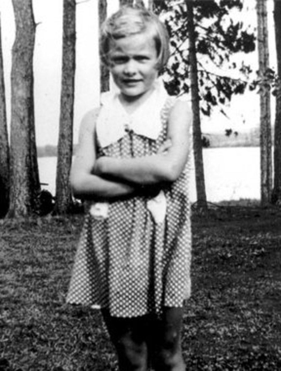 Barbara aged 8