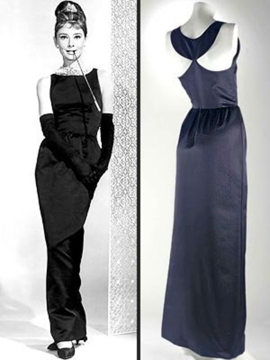 "The Givenchy dress from ""Breakfast at Tiffany's"" which sold for over $900,000 at auction in 2006"