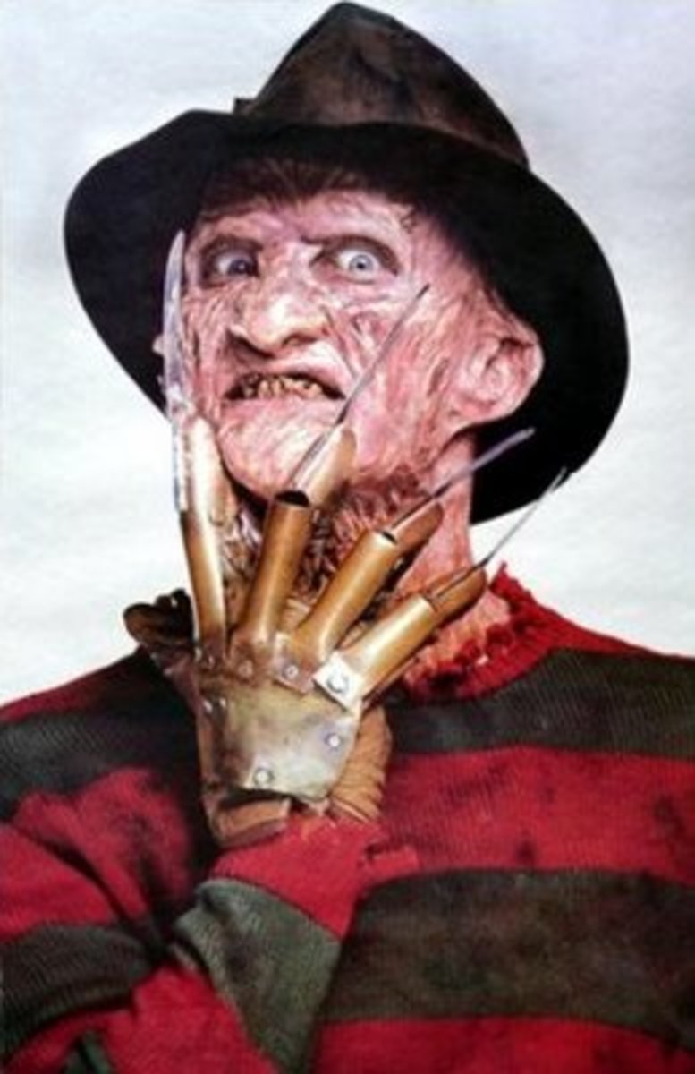 Robert Englund's portrayal of Freddy Krueger.