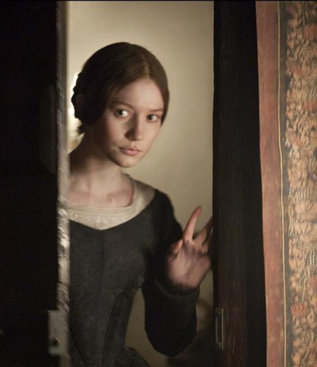 Mia Wasikowska, the next Jane