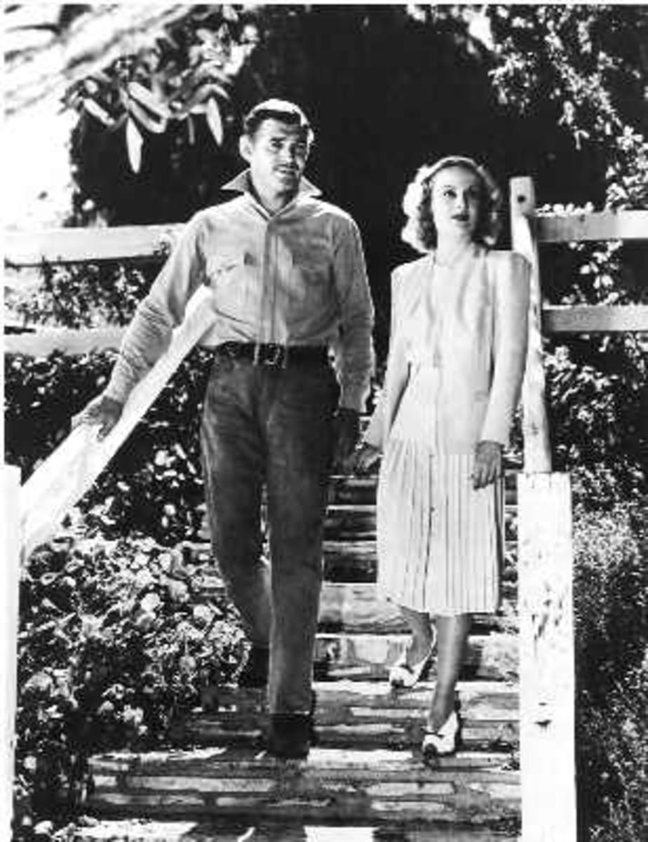 Gable and Carole Lombard