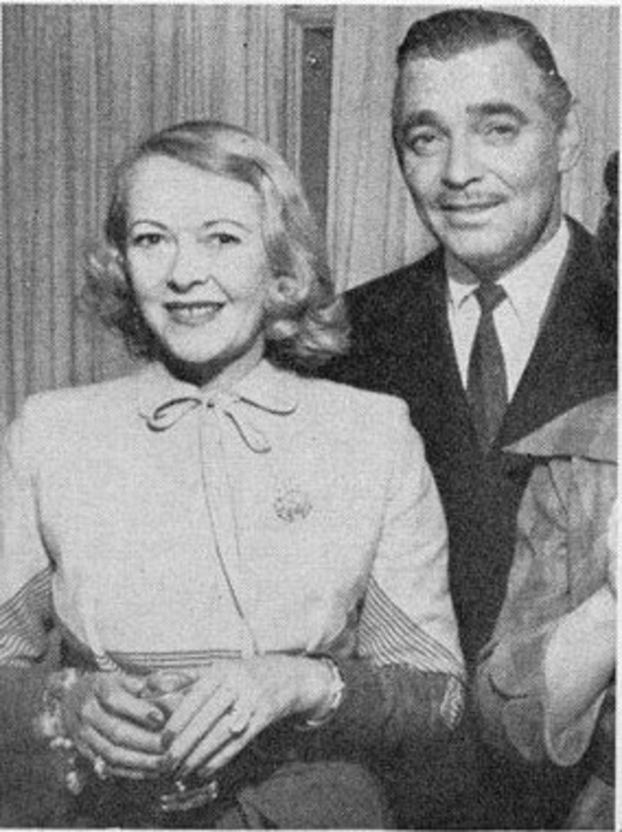 Gable with Lady Sylvia Ashley