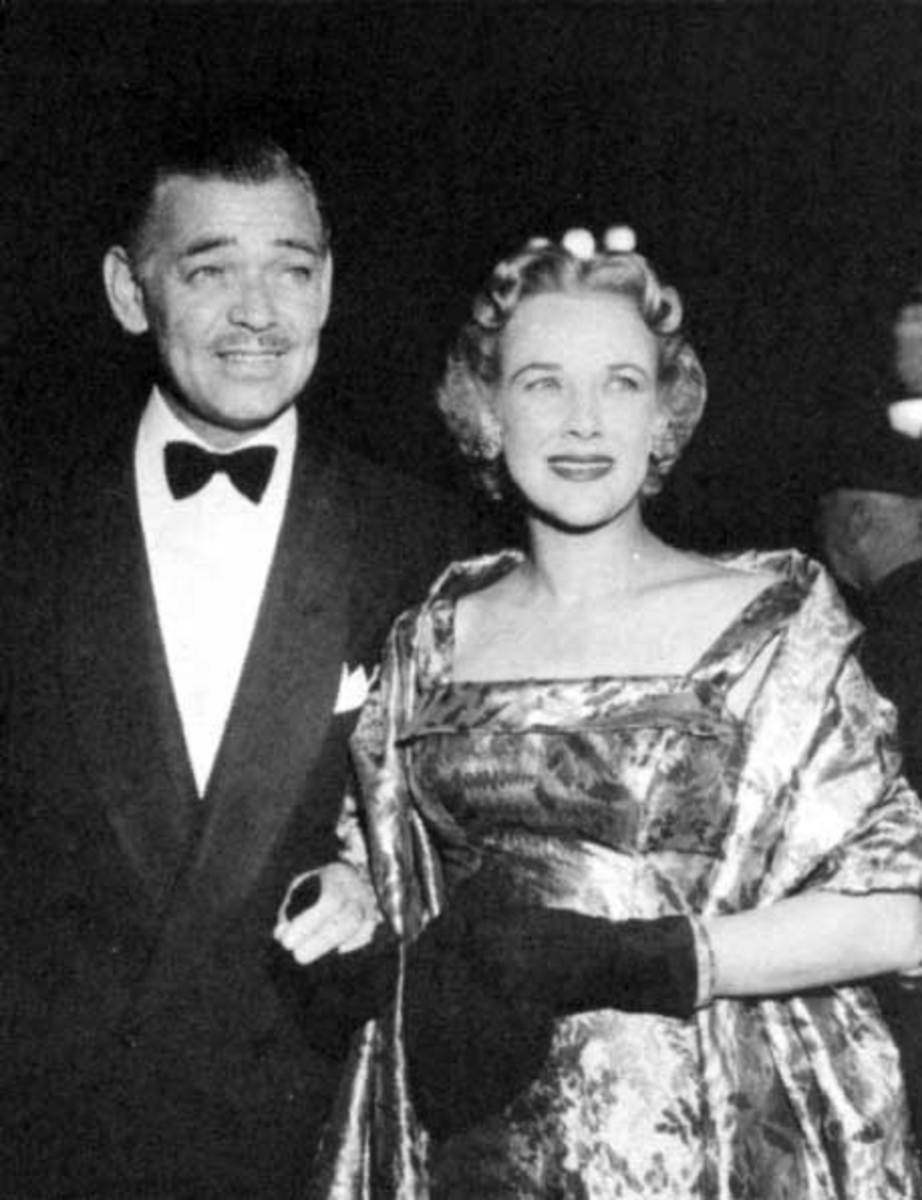Gable with Kay, 1958