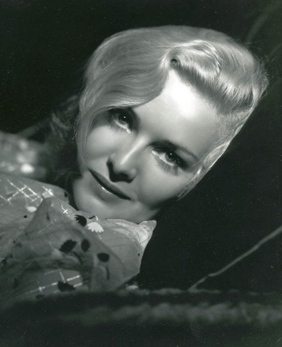 Madeleine Carroll, the original Hitchcock Blonde