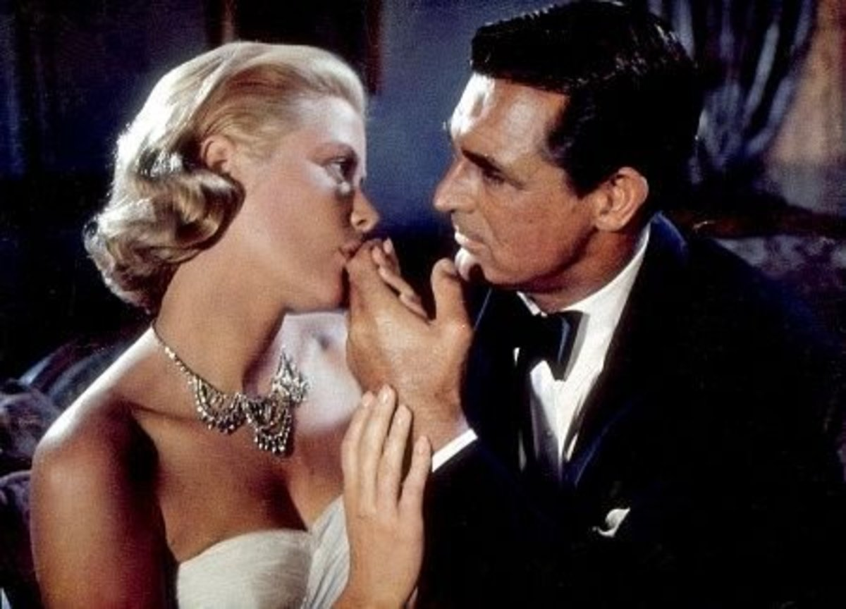"Cary Grant was the leading man lucky enough to star with three Hitchcock Blondes, including Grace Kelly in ""To Catch a Thief""."