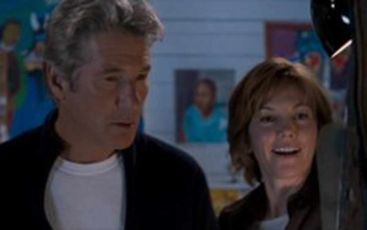 Diane Lane and Richard Gere in Nights in Rodanthe