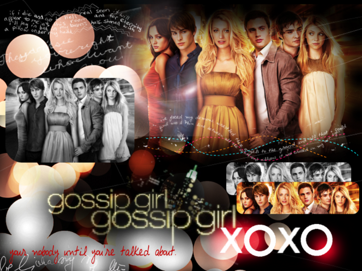 wallpaper from The CW, Gossip Girl
