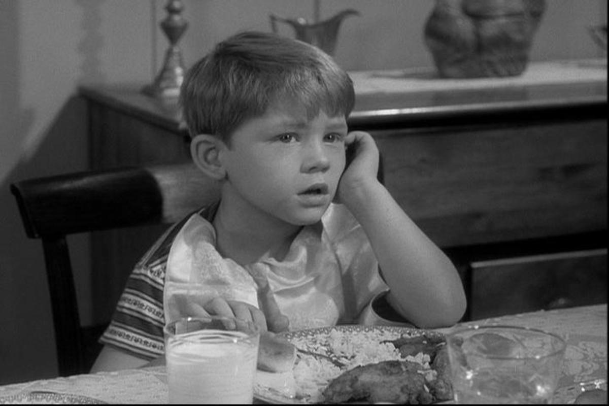 "OPIE TAYLOR IN THE FIRST EPISODE OF THE ANDY GRIFFITH SHOW ""THE NEW HOUSEKEEPER"""