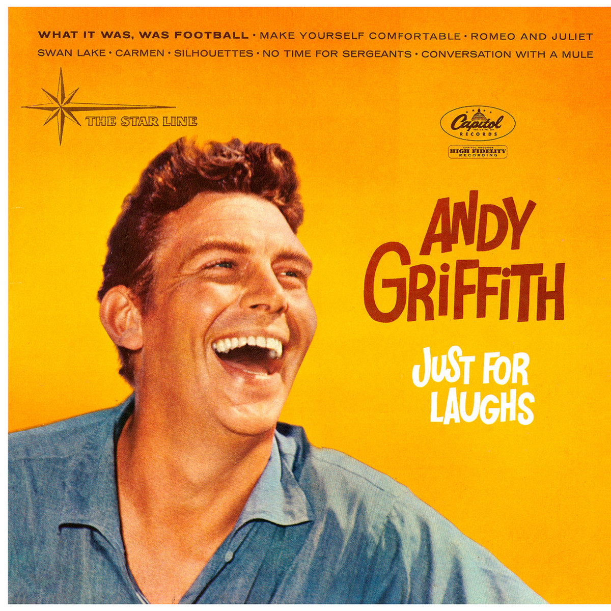 THE RECORD ALBUM THAT PROPELLED ANDY GRIFFITH TO STARDOM