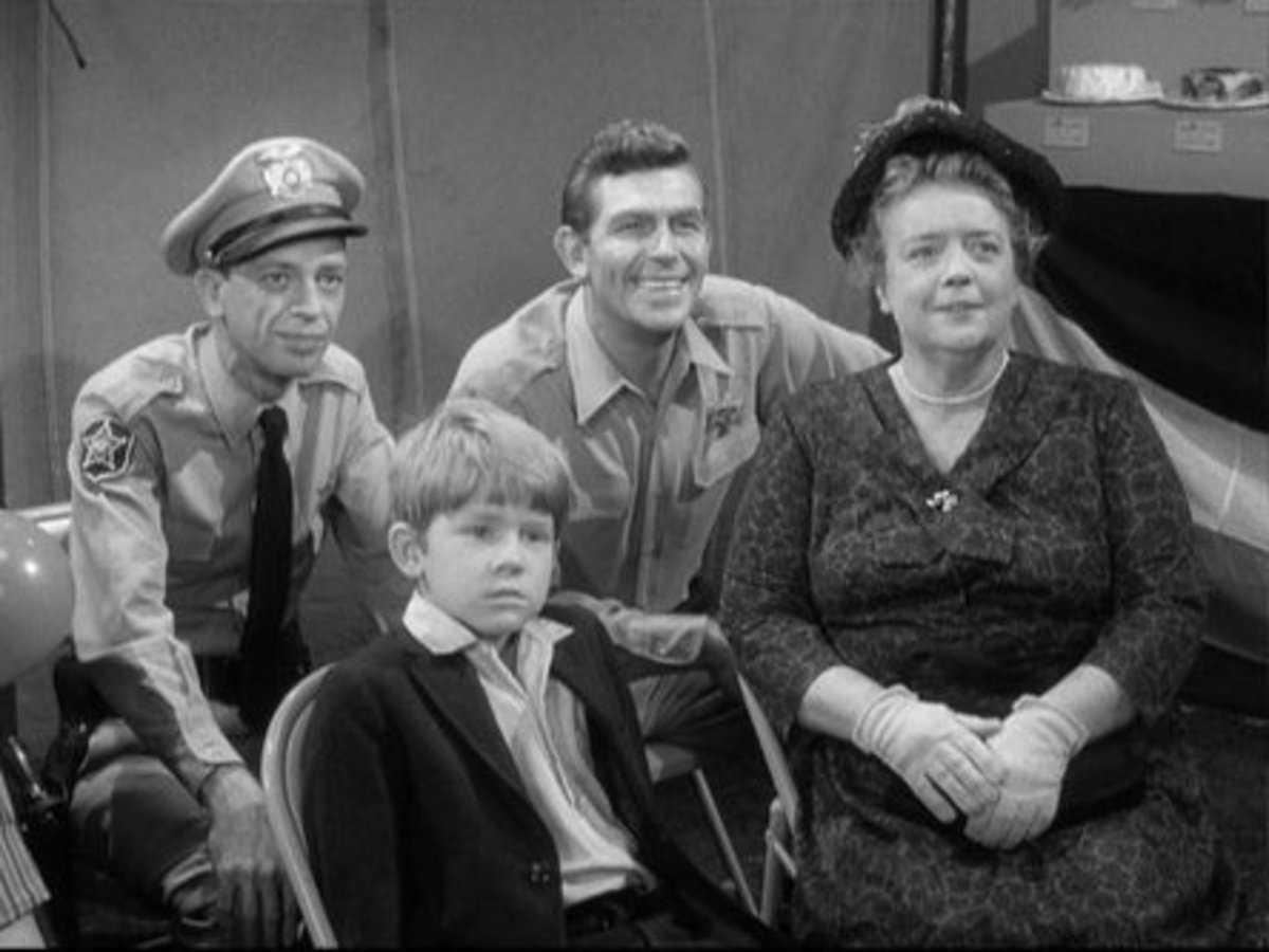 CAST OF THE ANDY GRIFFITH SHOW