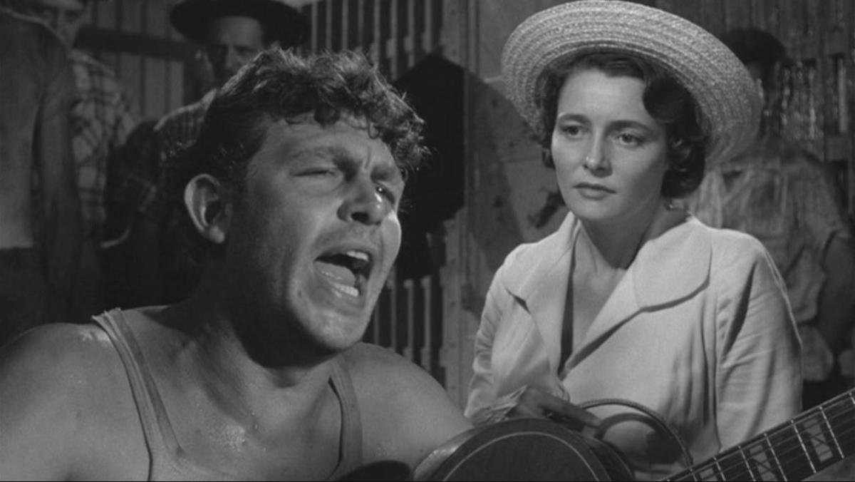 "ANDY GRIFFITH & PATRICIA NEAL IN ""A FACE IN THE CROWD"""