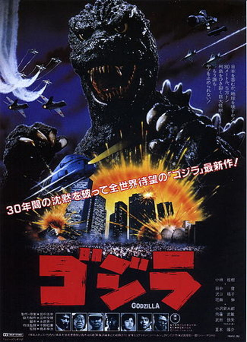 The Return of Godzilla © 1984 Toho Company LTD