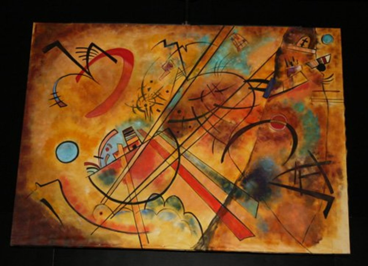 Another Kandinsky like the one in the film.