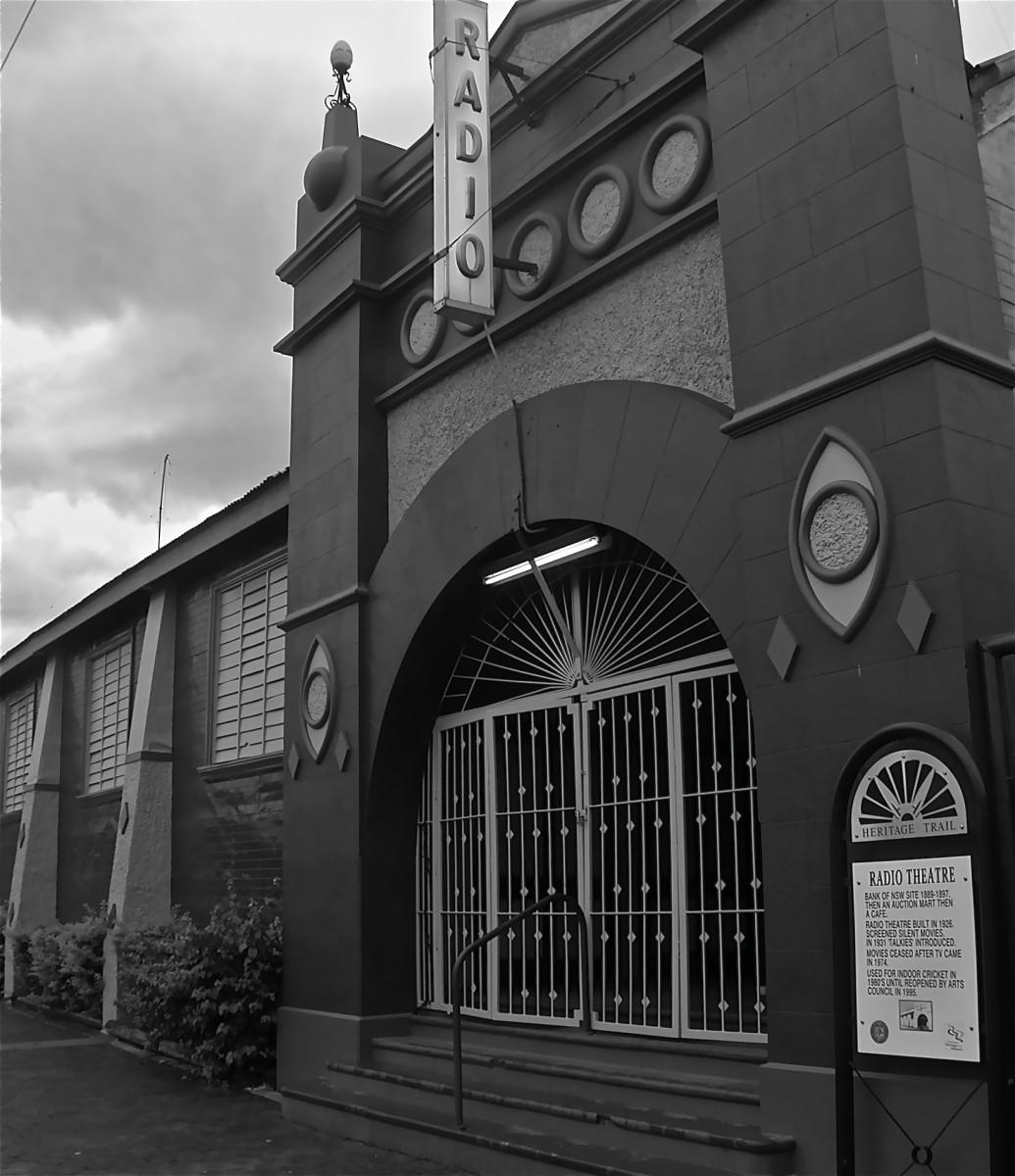 Radio Cinema, Barcaldine NSW. Image by Jane Bovary