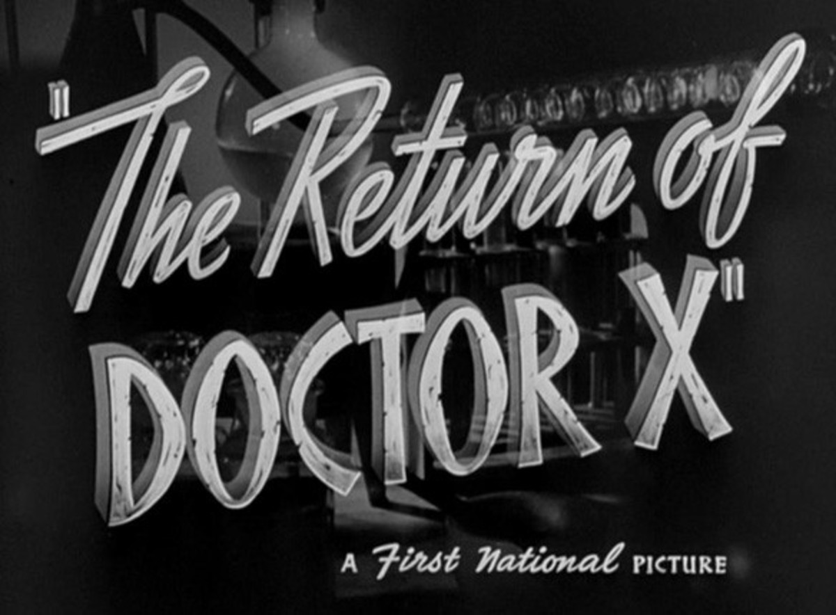 Title credit from Vincent Sherman's 1939 film