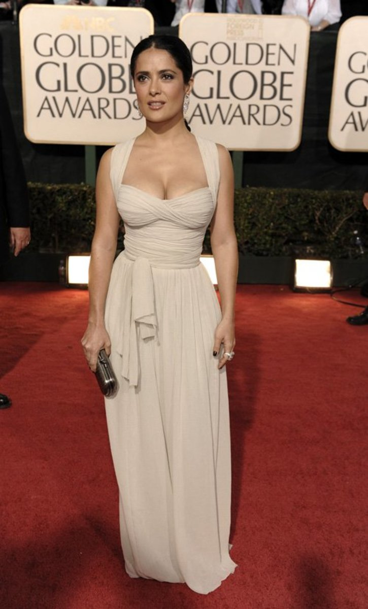 Salma Hayek in Evening Dress