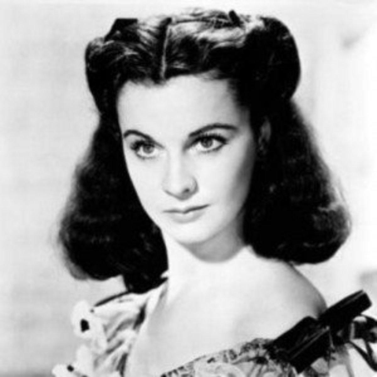 As Scarlett O'Hara, 1939