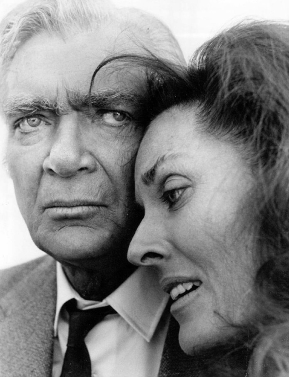 Buddy Ebsen and Lee Meriwether from the premiere of Barnaby Jones.