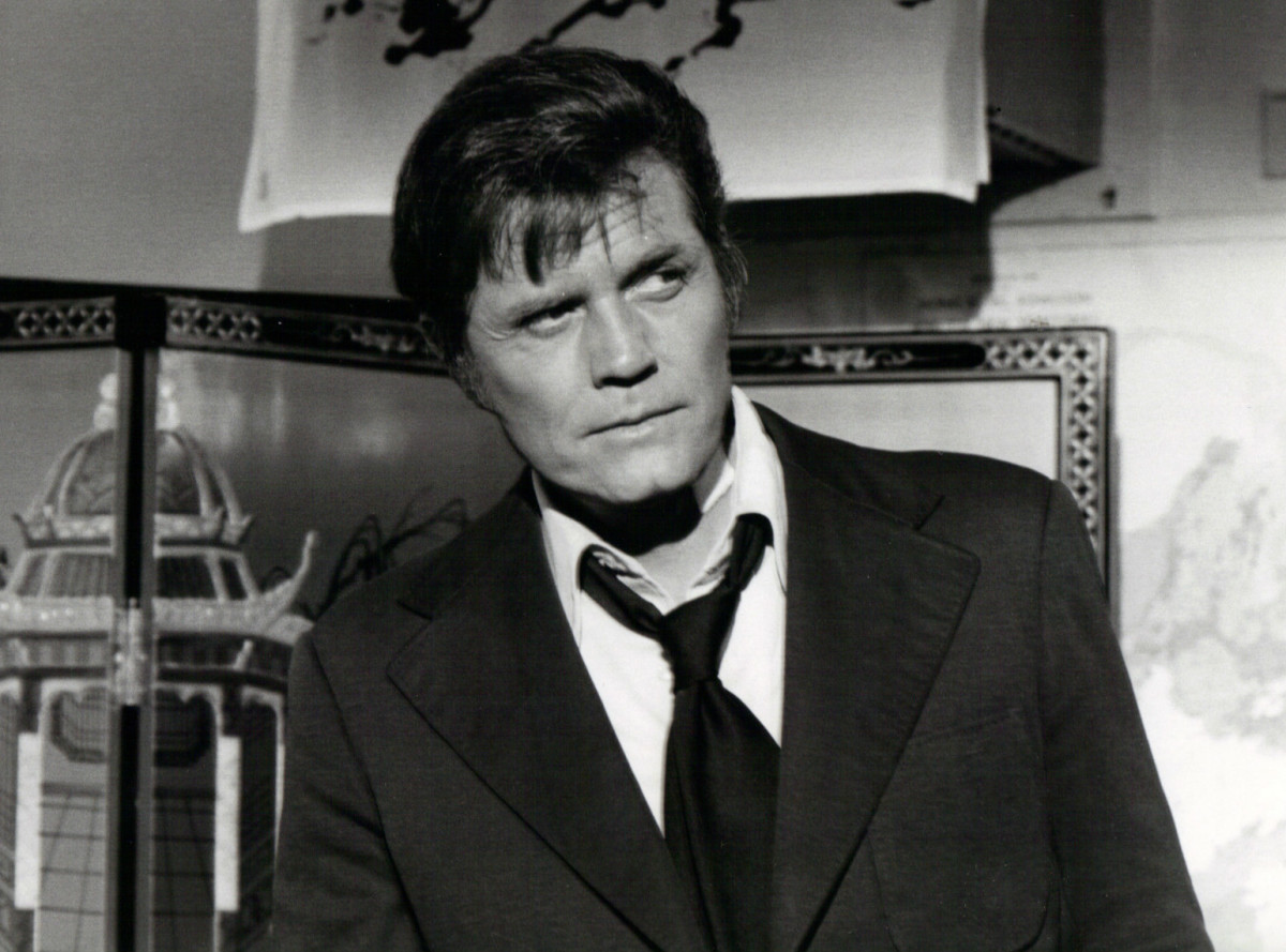 Jack Lord as Steve McGarrett on Hawaii Five-O.