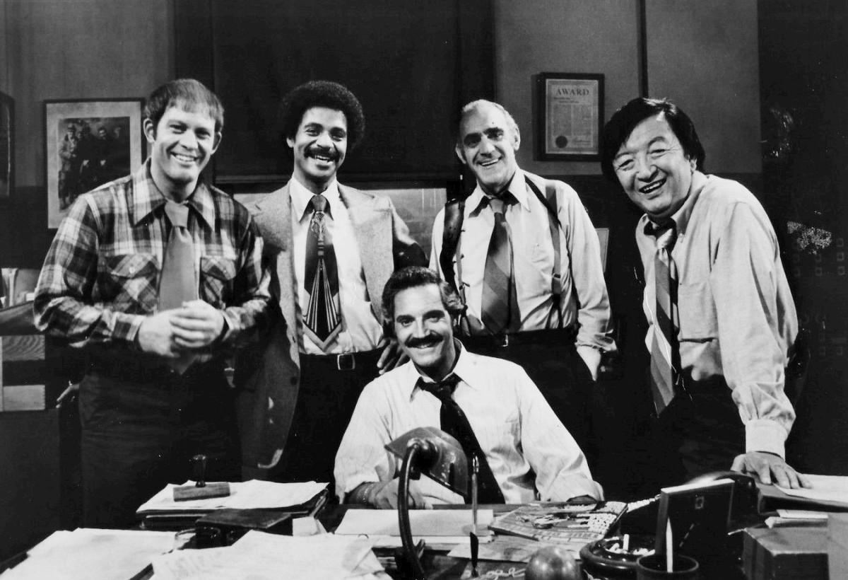 The cast of Barney Miller.