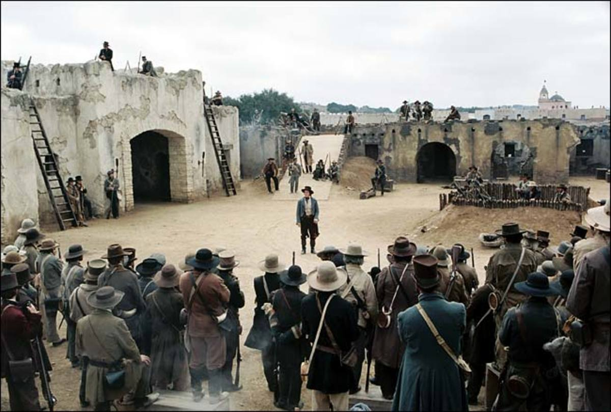 The Alamo Movie Set