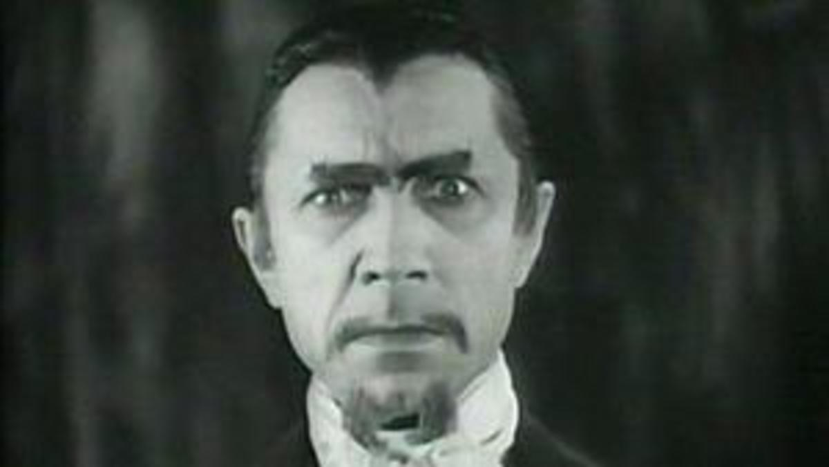 A shot of Bela Lugosi from the film, White Zombie (1932)