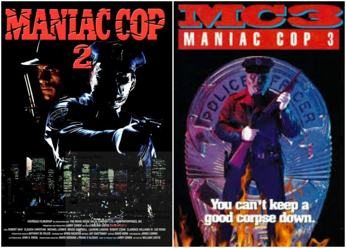 """The Rest of the story: """"Maniac Cop 2"""" (1990), """"Maniac Cop 3: Badge of Silence"""" (1993)"""