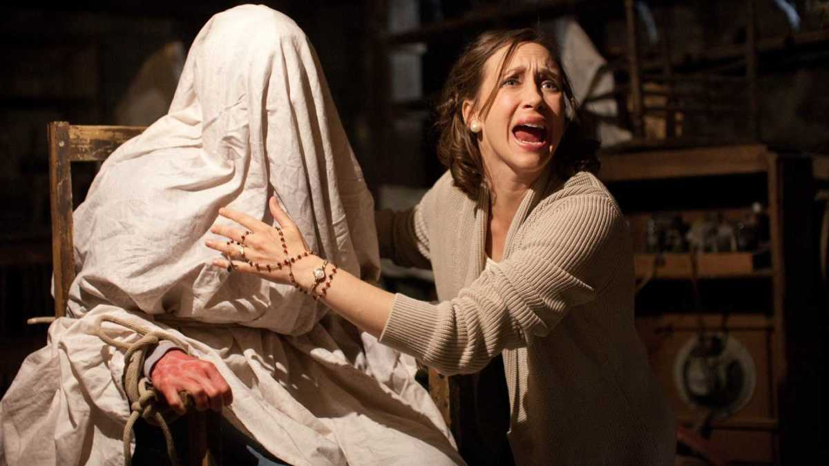 "Scene from ""The Conjuring"""