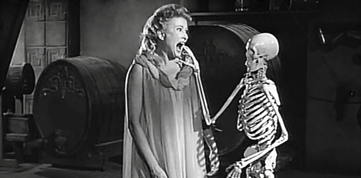 "Scene from ""House on Haunted Hill"""