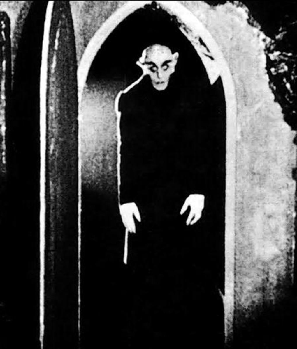 Nosferatu - the classic vampire at his cinematic creepiest