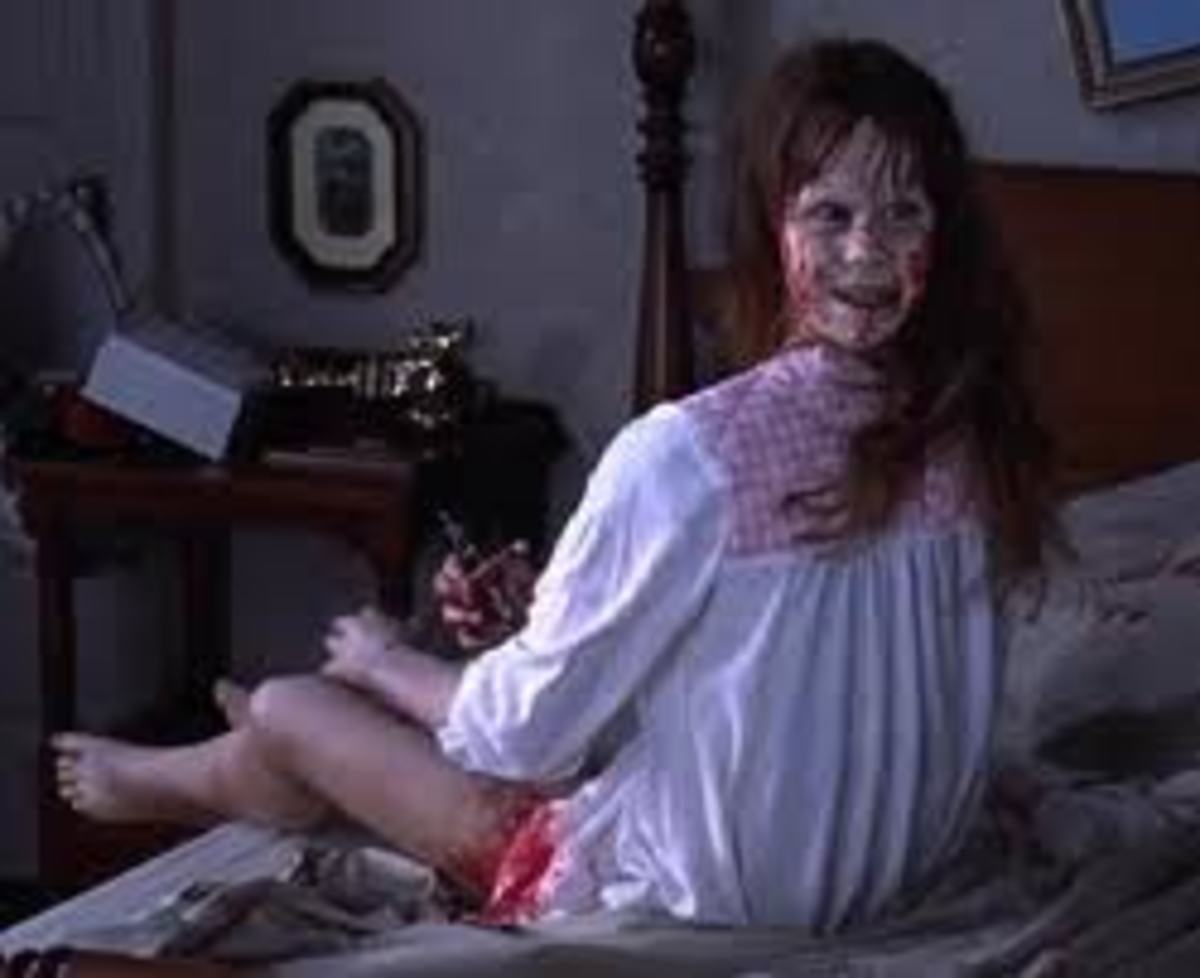 The Exorcist - Regan's head turns around