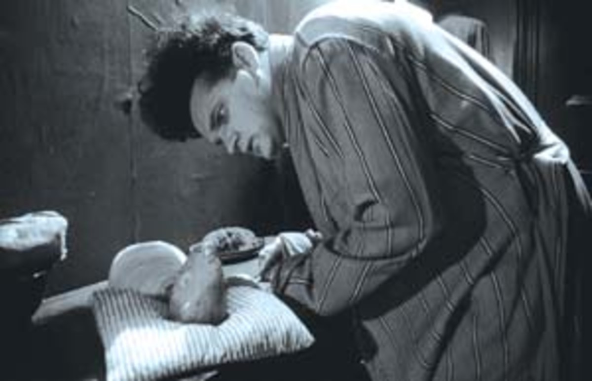 Eraserhead - so disturbing I will never watch it again!