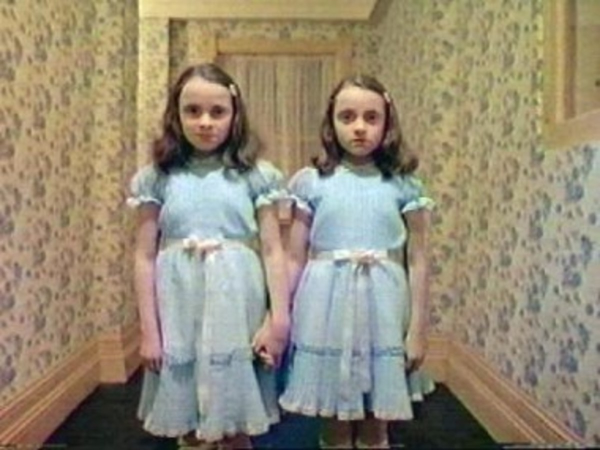 The Shining - those oh so wonderfully scary twins