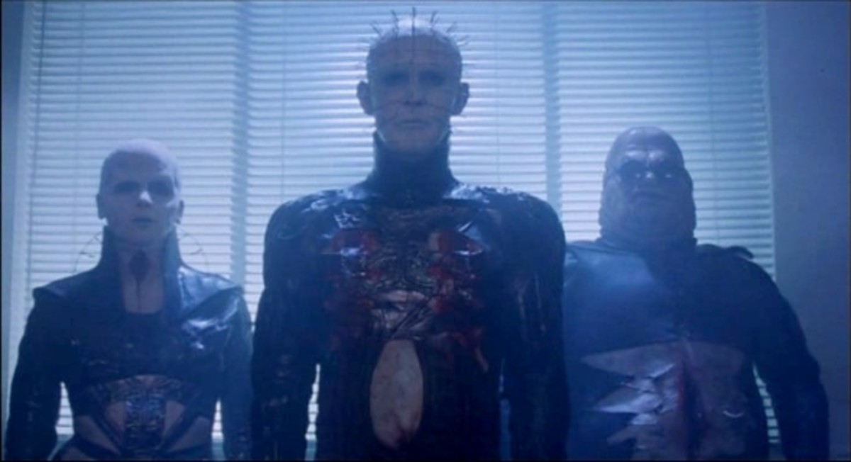 Hellraiser - the allure of the Cenobites and the hauntingly seductive music