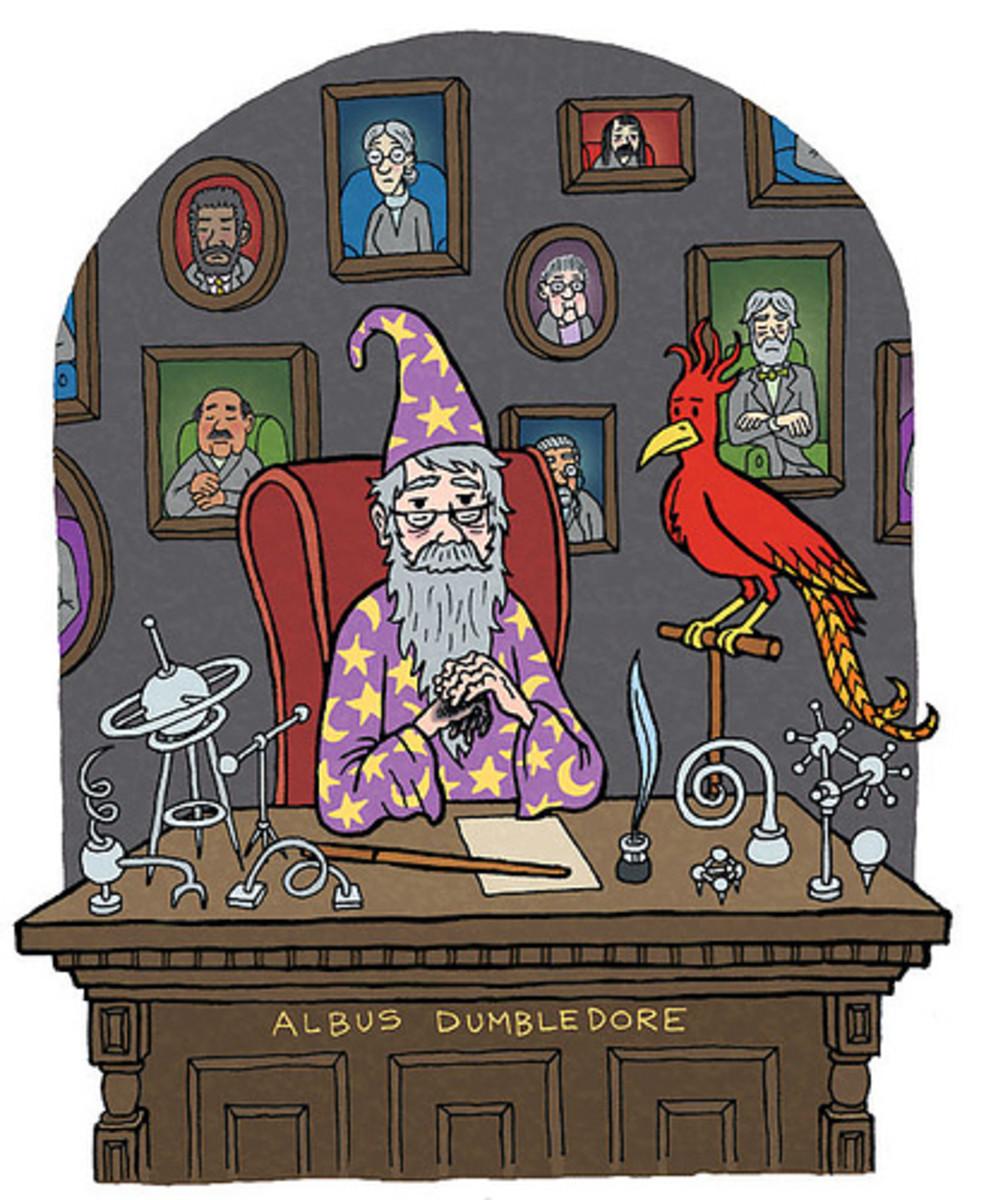 Headmaster Albus Dumbledore
