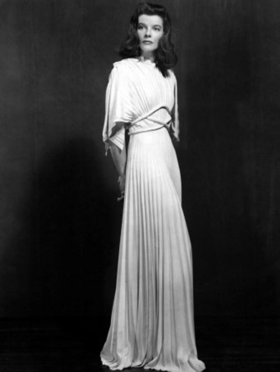 Katharine Hepburn in 'The Philadelphia Story' in 1940
