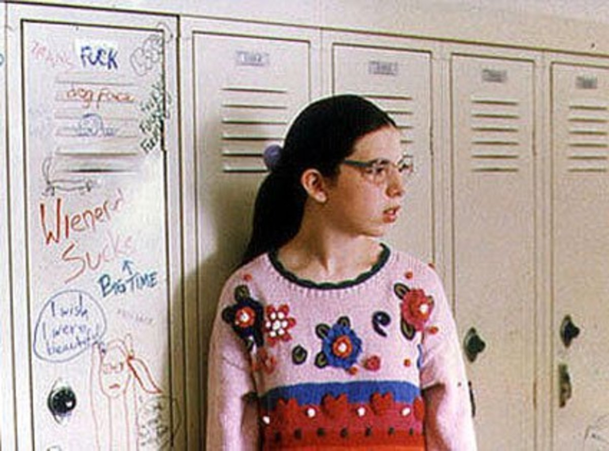 Dawn standing by her locker...this should tell you a lot