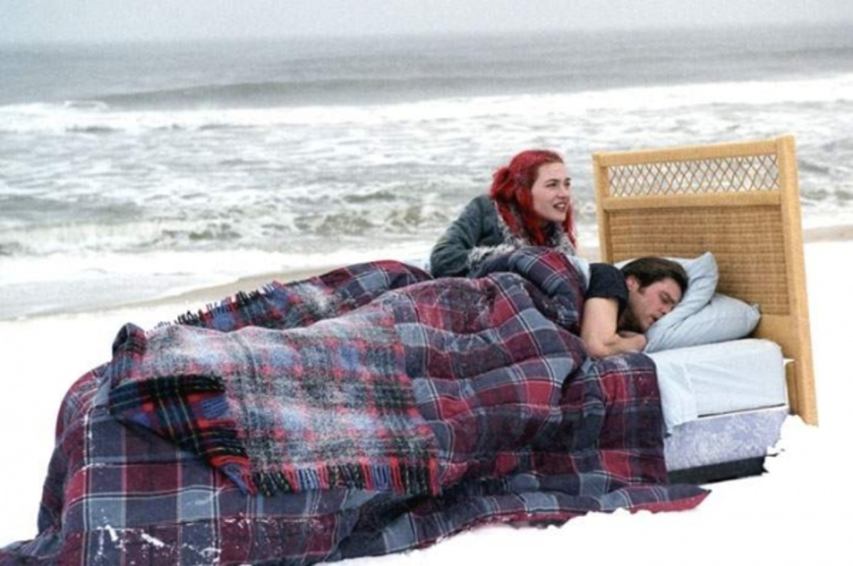 Surreal image from Eternal Sunshine...