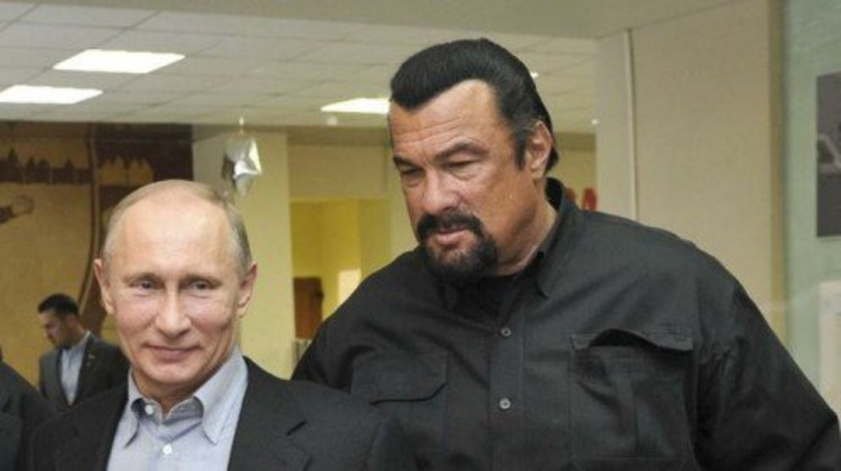 Seagal and Putin are pals