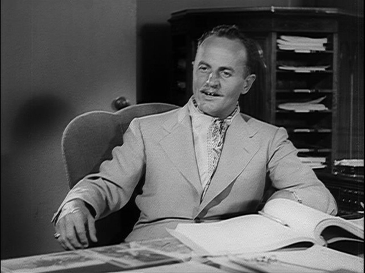 """Darryl F. Zanuck in the trailer for """"The Grapes of Wrath"""" (1940)"""